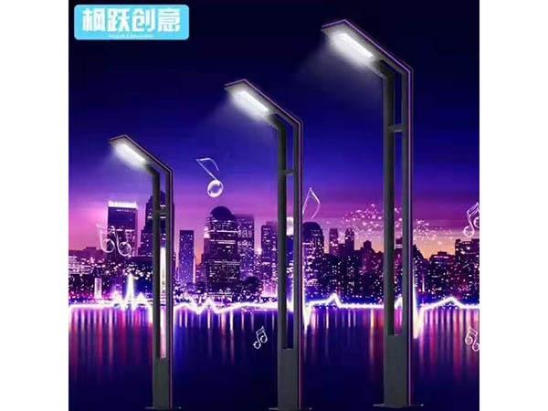 铝制景观灯具夜景图
