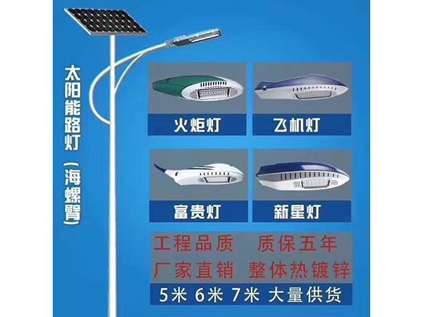 太阳能路灯效果图4