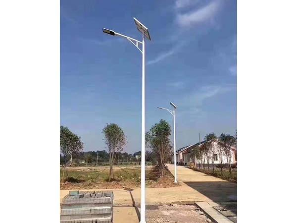 太阳能路灯效果图2