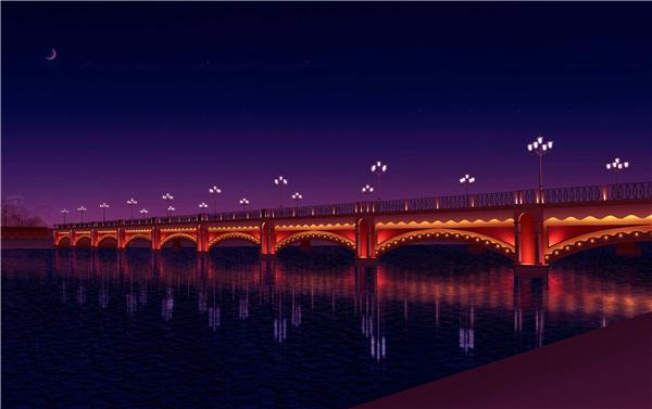 桥梁亮化工程-暨阳大桥