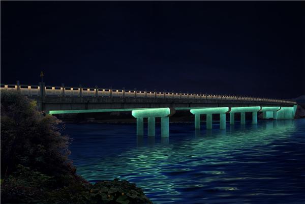 桥梁亮化工程-婺源1、2号桥