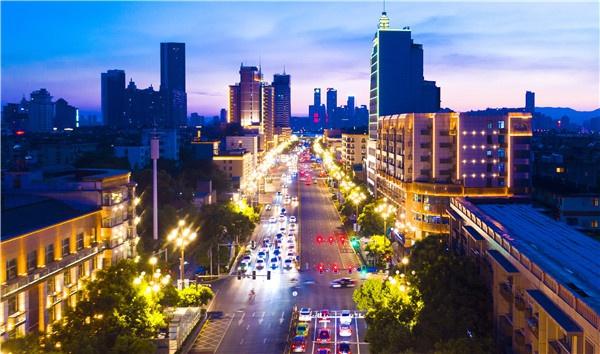 道路亮化-阳明路街景亮化