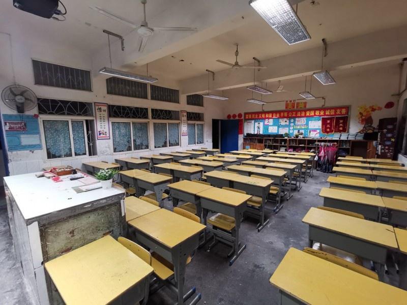 怀化舞水小学-教育照明改造