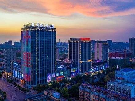 楼宇亮化-九江联盛九龙广场商业泛光照明