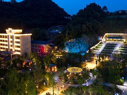景观亮化-彭泽县龙城公园夜景亮化提升工程