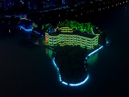 景观亮化-南昌青山湖风景管理处