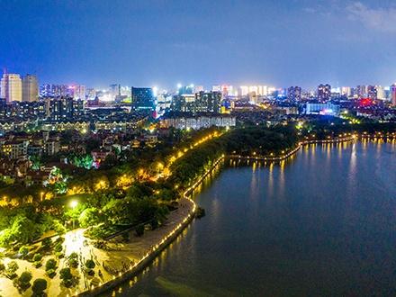 道路照明-上饶 鄱阳县城区环湖路、东湖大道路灯工程