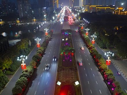 景观照明工程-江西 抚州 迎宾大道