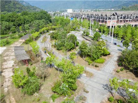 江西省 九江市 庐山航拍绿化工程